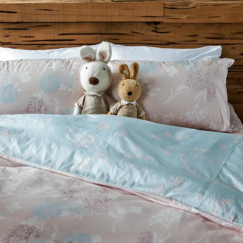 床包/單人【夢遊愛麗絲】100%精梳棉單人床包含一件枕套