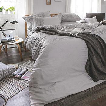 床包/單人【爵色風華】60支天絲單人床包含一件枕套