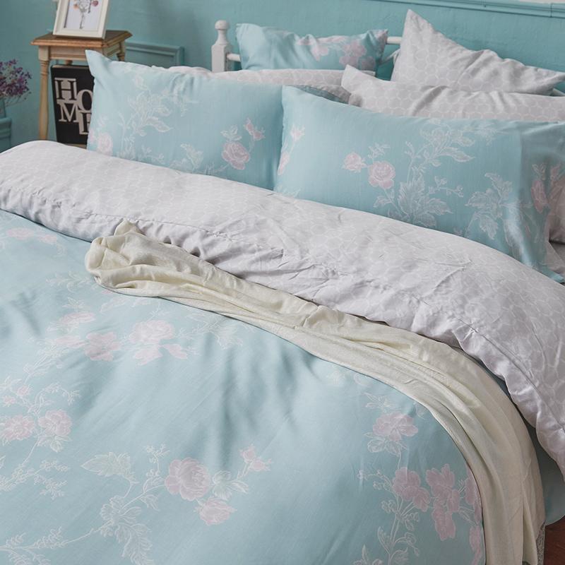 床包/單人【茉凡蒂】60支天絲單人床包含一件枕套