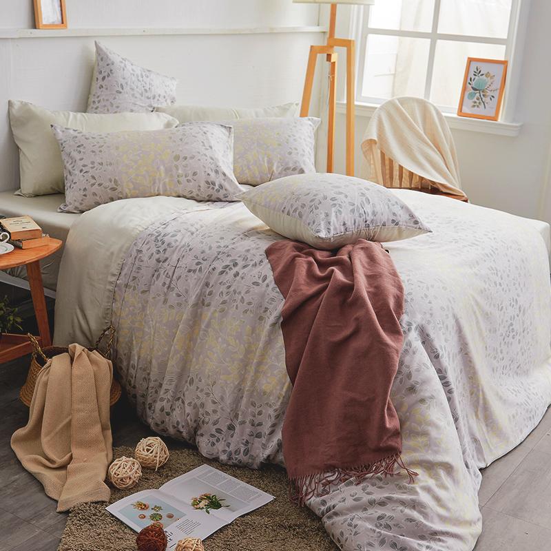 床包/單人【綠憶】40支天絲單人床包含一件枕套