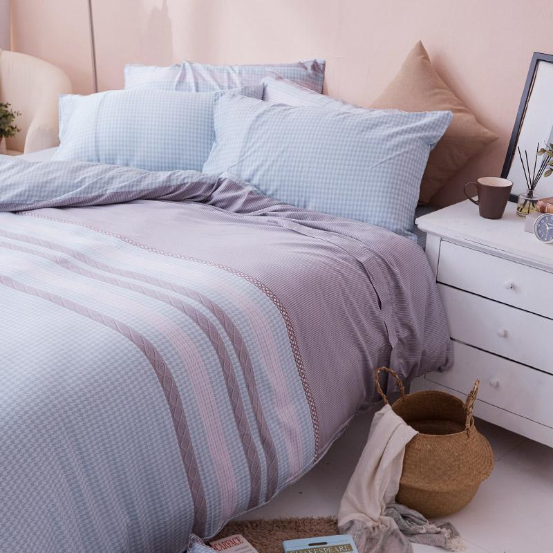 床包/單人【阡陌交織】60支天絲單人床包含一件枕套