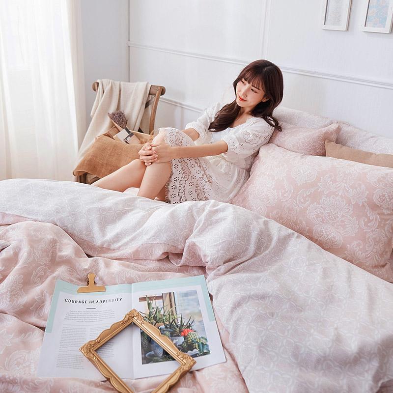 床包/單人【德露納】40支天絲單人床包含一件枕套