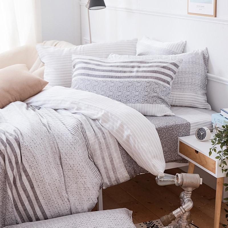 床包/單人【日青】60支天絲單人床包含一件枕套