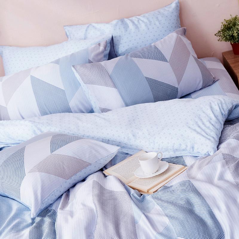 床包/單人【絲柏特】40支天絲單人床包含一件枕套
