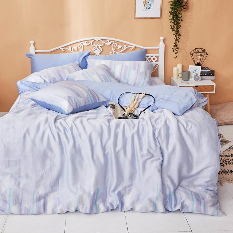 床包/單人【曼響】40支天絲單人床包含一件枕套