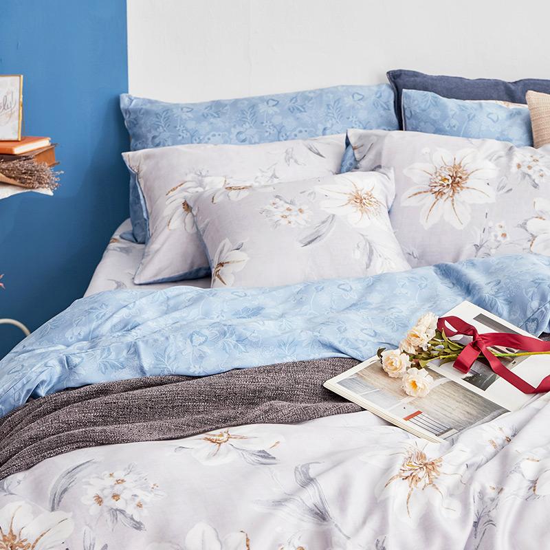床包/單人【絲諾】40支天絲單人床包含一件枕套