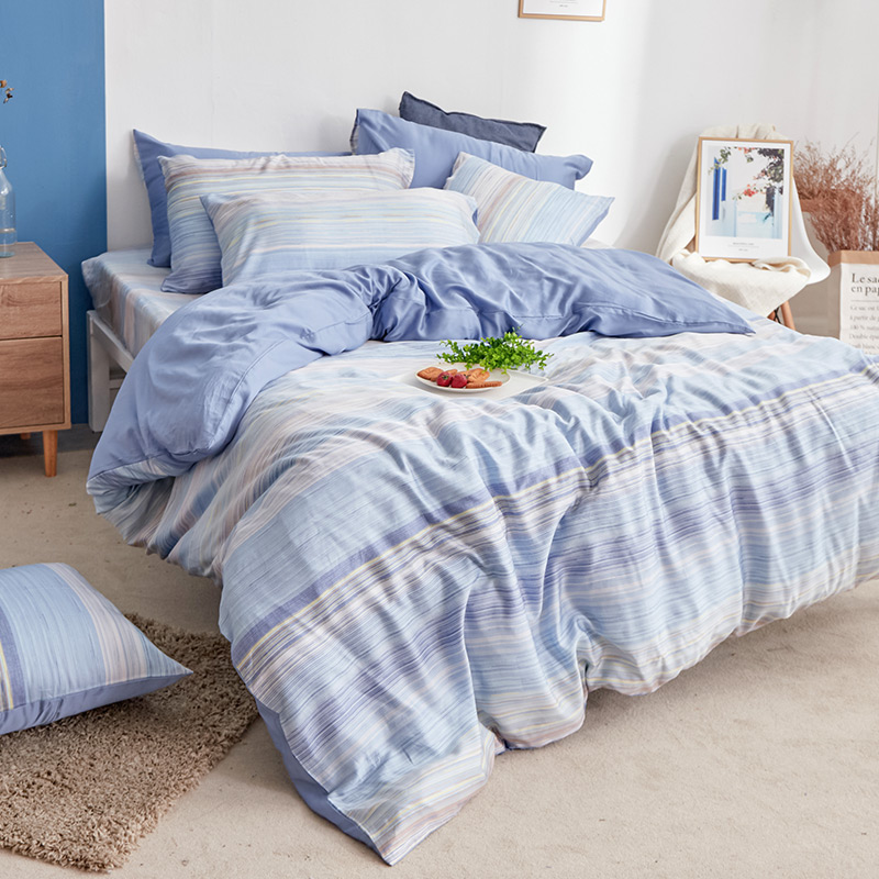 床包/單人【歐尚】60支天絲單人床包含一件枕套