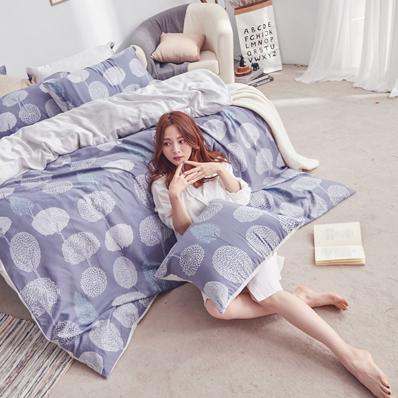 床包/單人【斯多夫】60支天絲單人床包含一件枕套