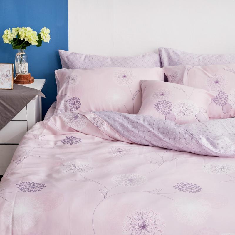 床包/單人【蔓依】60支天絲單人床包含一件枕套