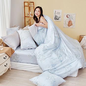 床包/單人【芯悅香鈴】60支天絲單人床包含一件枕套