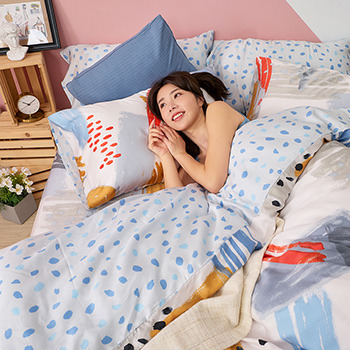 床包/單人【希涅克】60支天絲單人床包含一件枕套