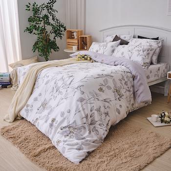床包/單人【凜冬果實】40支天絲單人床包含一件枕套