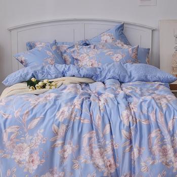 床包/單人【菲尼克絲】40支天絲單人床包含一件枕套