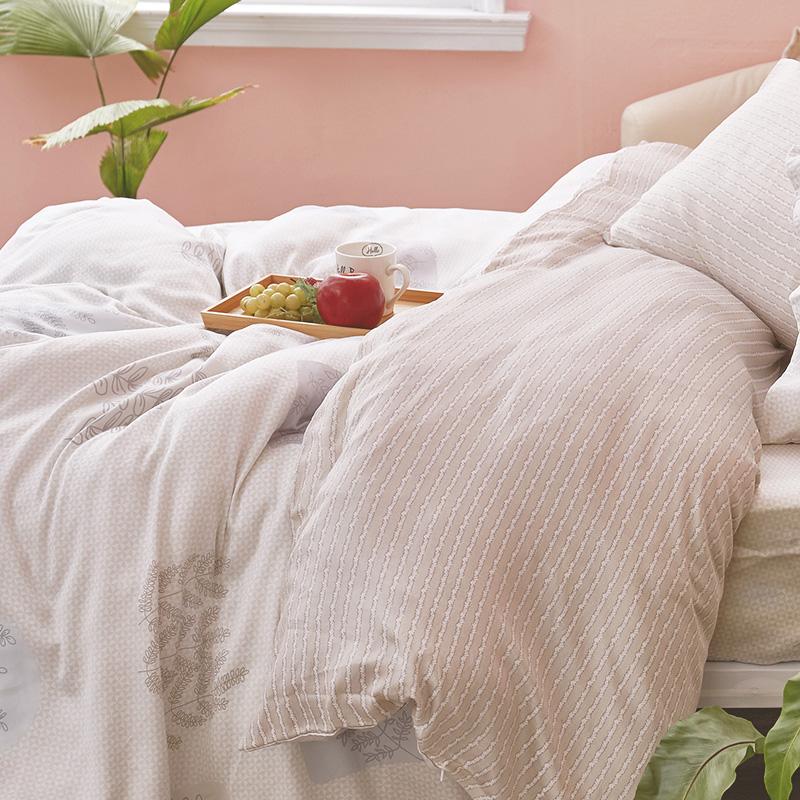 床包/雙人【光合日晨】40支天絲雙人床包含兩件枕套