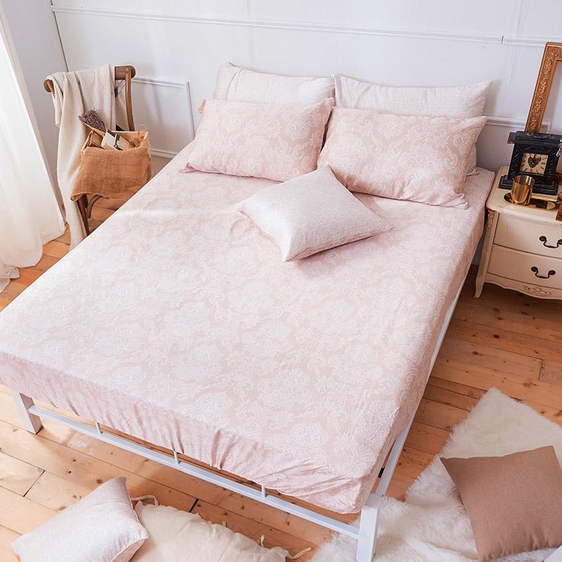 床包/雙人【德露納】40支天絲雙人床包含二件枕套