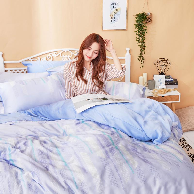 床包/雙人【曼響】40支天絲雙人床包含兩件枕套