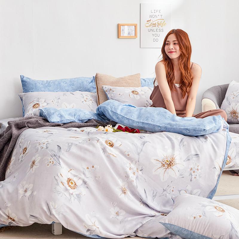 床包/雙人【絲諾】40支天絲雙人床包含兩件枕套