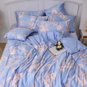 床包/雙人【菲尼克絲】40支天絲雙人床包含二件枕套