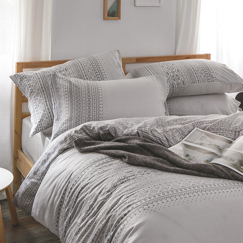床包/雙人加大【爵色風華】60支天絲雙人加大床包含兩件枕套