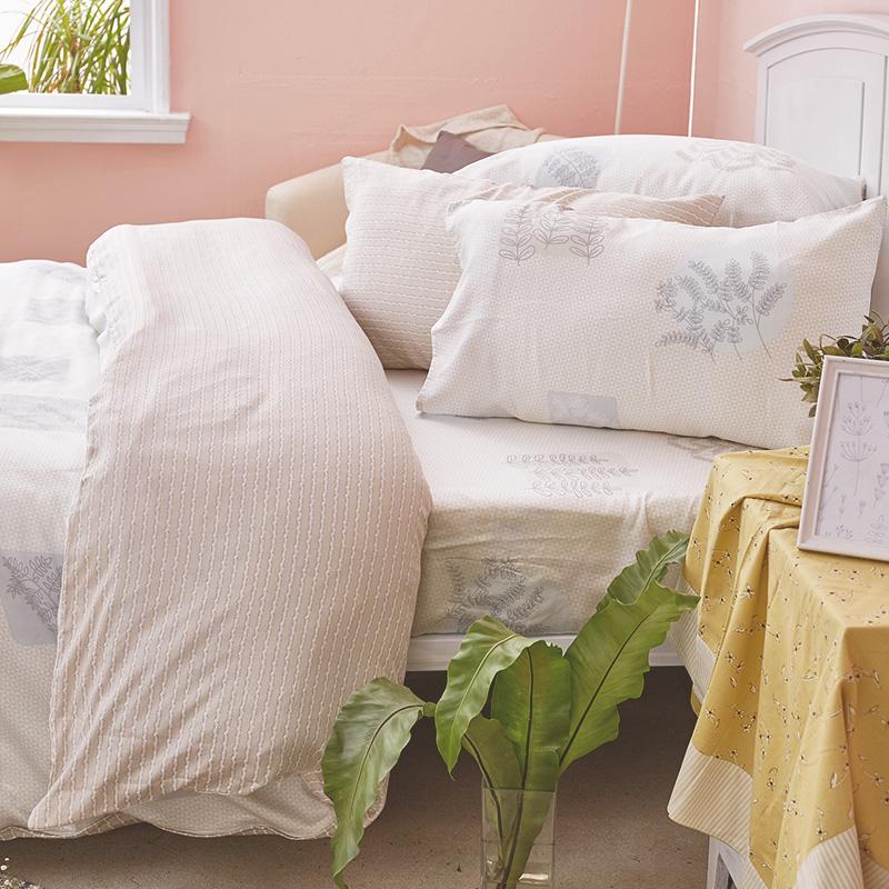 床包/雙人加大【光合日晨】40支天絲雙人加大床包含兩件枕套