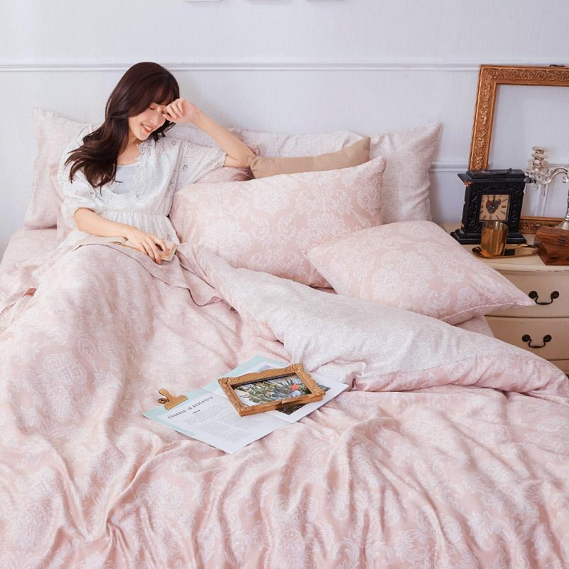 床包/雙人加大【德露納】40支天絲雙人加大床包含二件枕套