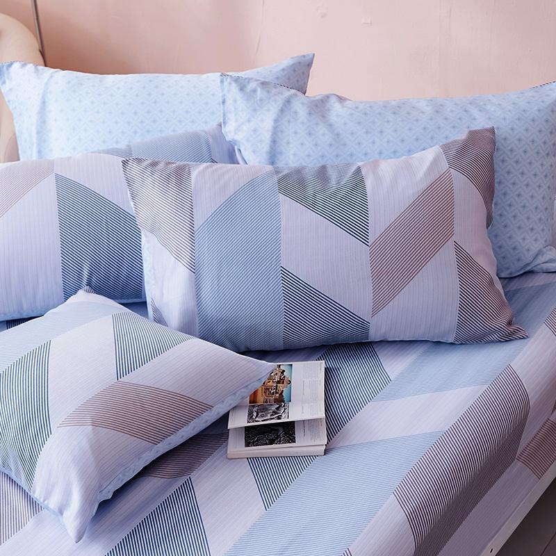 床包/雙人加大【絲柏特】40支天絲雙人加大床包含二件枕套