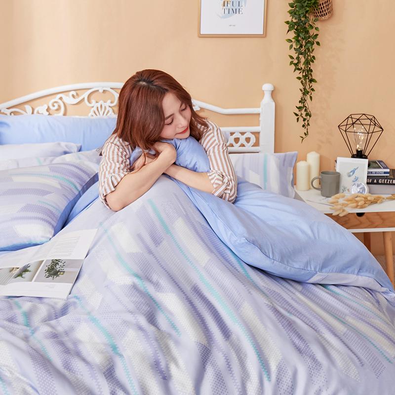 床包/雙人加大【曼響】40支天絲雙人加大床包含兩件枕套