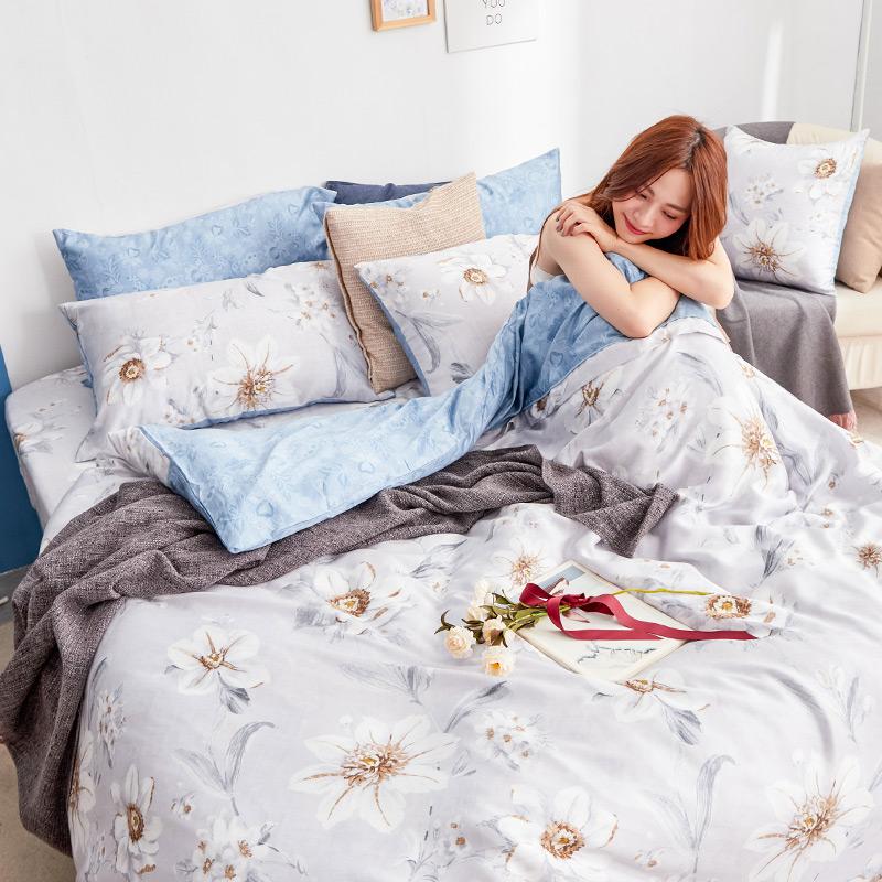 床包/雙人加大【絲諾】40支天絲雙人加大床包含兩件枕套