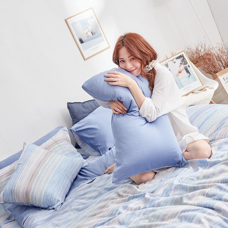 床包/雙人加大【歐尚】60支天絲雙人加大床包含二件枕套