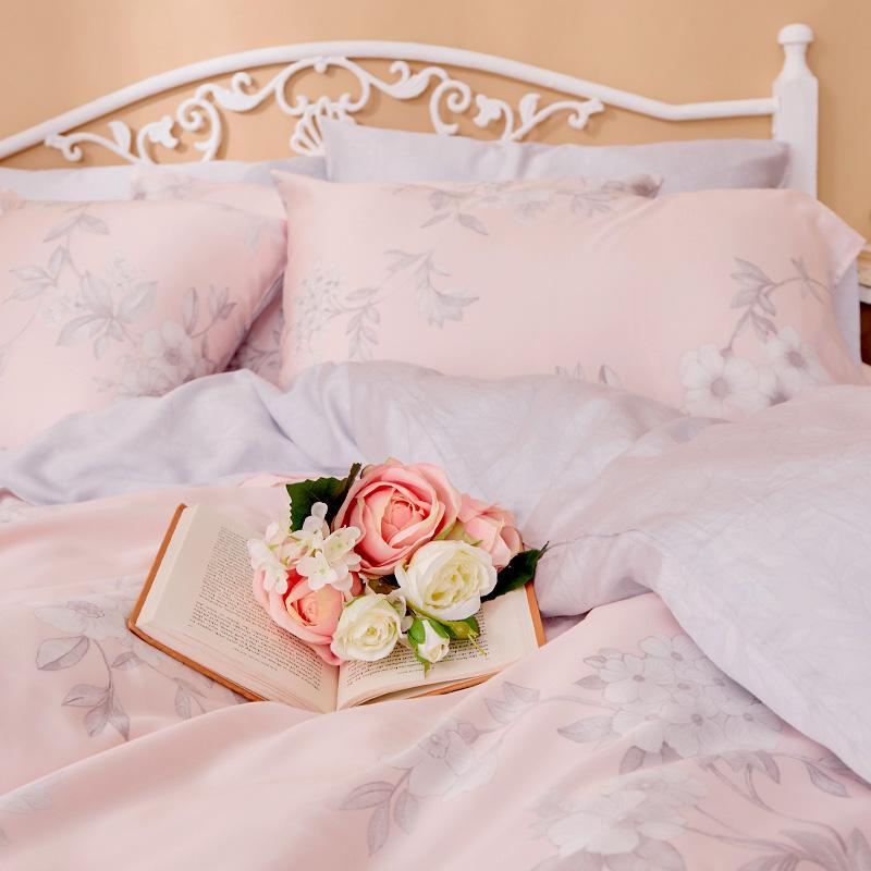 床包/雙人加大【玫薇思】60支天絲雙人加大床包含二件枕套