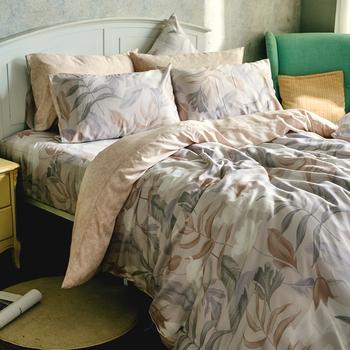 床包/雙人加大【織夢國境】60支天絲雙人加大床包含二件枕套