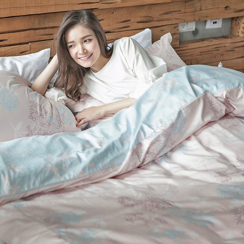 床包/雙人特大【夢遊愛麗絲】100%精梳棉雙人特大床包含兩件枕套