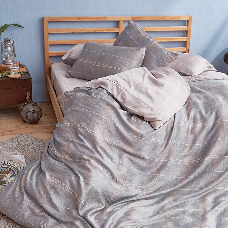 床包/雙人特大【雷諾瓦】40支天絲雙人特大床包含二件枕套
