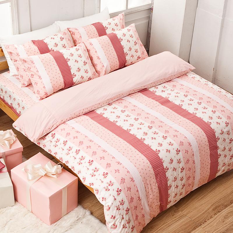 枕頭套/一入【貴族花園】100%精梳棉美式信封枕套