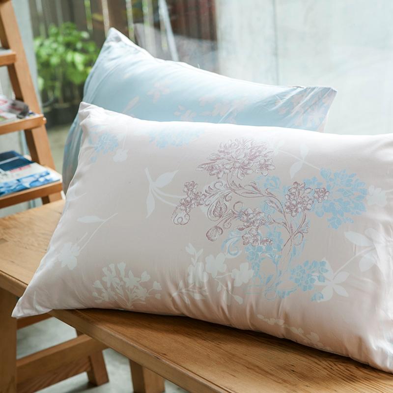 枕頭套/一入【夢遊愛麗絲】100%精梳棉美式信封枕套