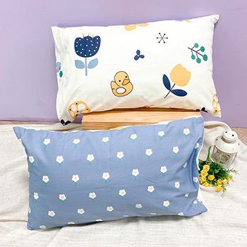 枕頭套/一入【花漫】美式信封枕套精梳純棉
