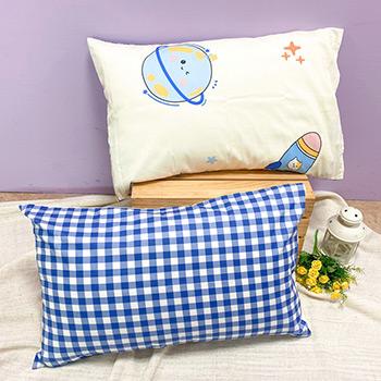枕頭套/一入【夢想旅行】美式信封枕套精梳純棉