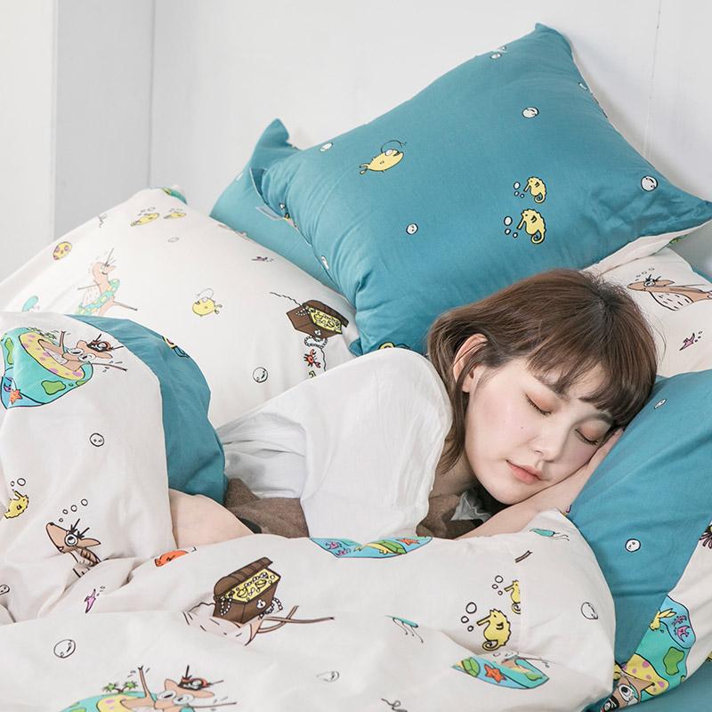 抱枕/方形抱枕【迷路的漂流日記】100%精梳棉抱枕