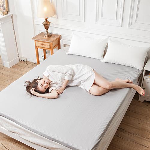 記憶床墊/雙人加大蛋型【吸濕排汗備長炭記憶床墊】6x6.2尺5CM吸濕排汗鳥眼布套