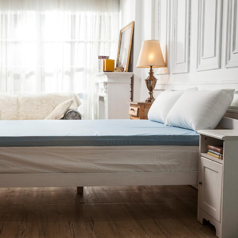 記憶床墊/雙人加大平面【防潑水記憶床墊】6x6.2尺7.6CM3M配方防潑水表布