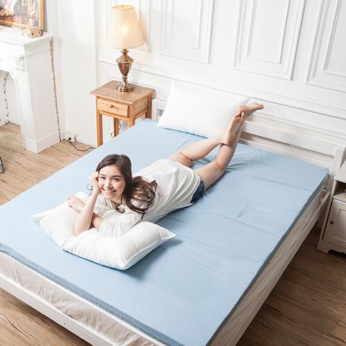 記憶床墊/雙人加大蛋型【防潑水記憶床墊】6x6.2尺7.6CM3M配方防潑水表布
