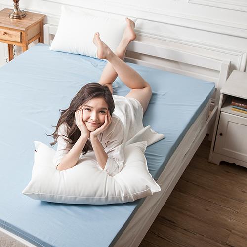 記憶床墊/雙人特大蛋型【防潑水記憶床墊】6x7尺7.6CM3M配方防潑水表布