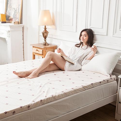 乳膠床墊/單人加大【皮爾帕門頂級天然乳膠床墊】3.5x6.2尺5CM原廠印花布套