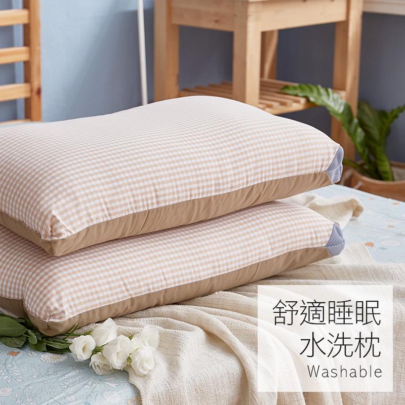 枕頭/水洗枕【樂芙舒適睡眠水洗枕】特殊網狀設計