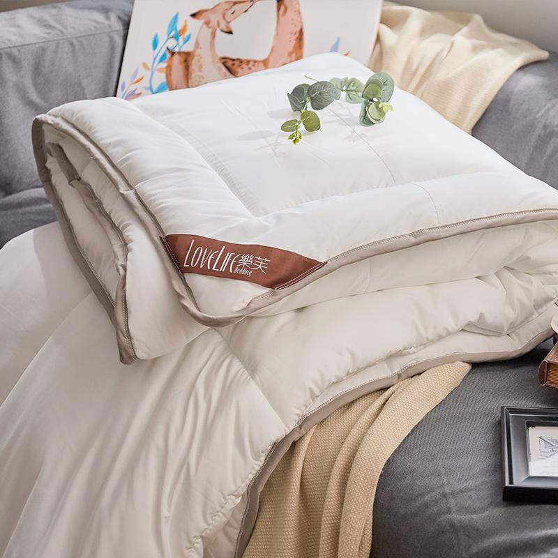 棉被/雙人【樂芙太空暖暖被】抗菌防蹣,輕盈蓬鬆,絕佳保暖