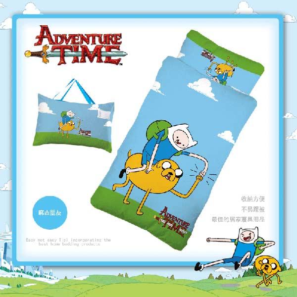 鋪棉睡袋【探險活寶朋友篇】混紡精梳棉標準幼教冬夏兩用鋪棉睡袋
