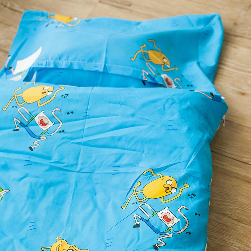 標準睡袋【探險活寶-歌唱篇】高密度磨毛布標準幼教睡袋