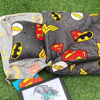 兒童睡袋/【DC正義聯盟】100%精梳棉兒童睡袋
