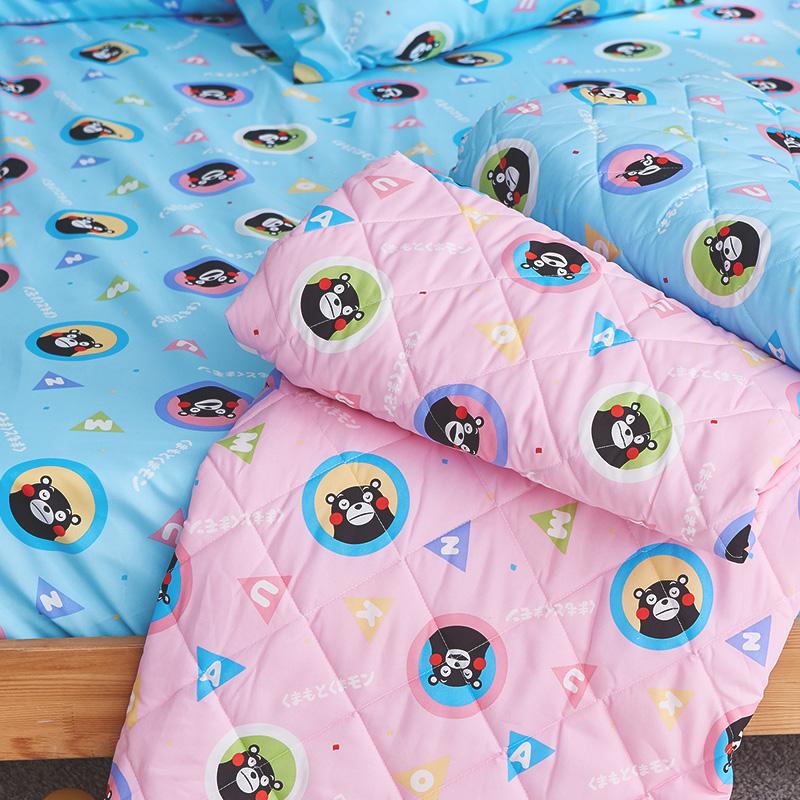 涼被/雙人【熊本熊樂園粉】高密度磨毛布雙人涼被