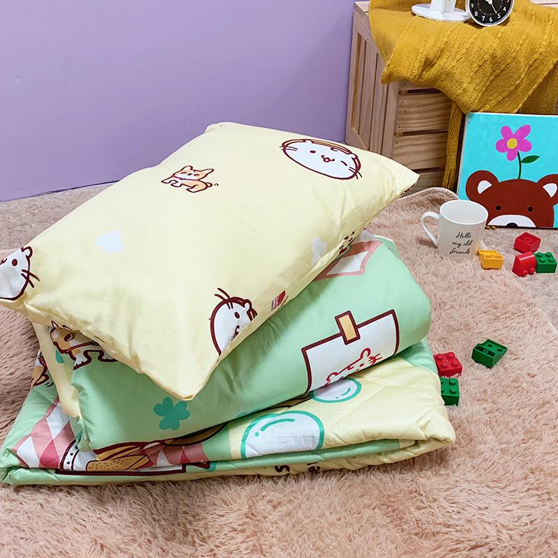 兒童睡墊組/【野餐派對米-三合一睡墊組】